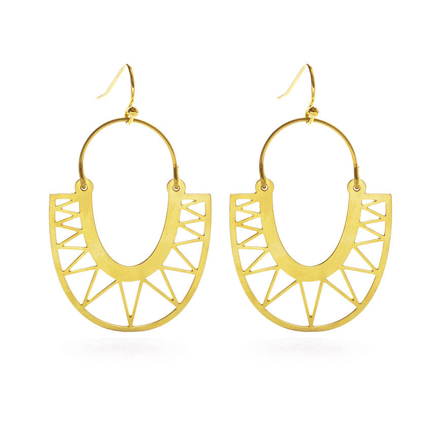 SUNGOD DROP EARRINGS