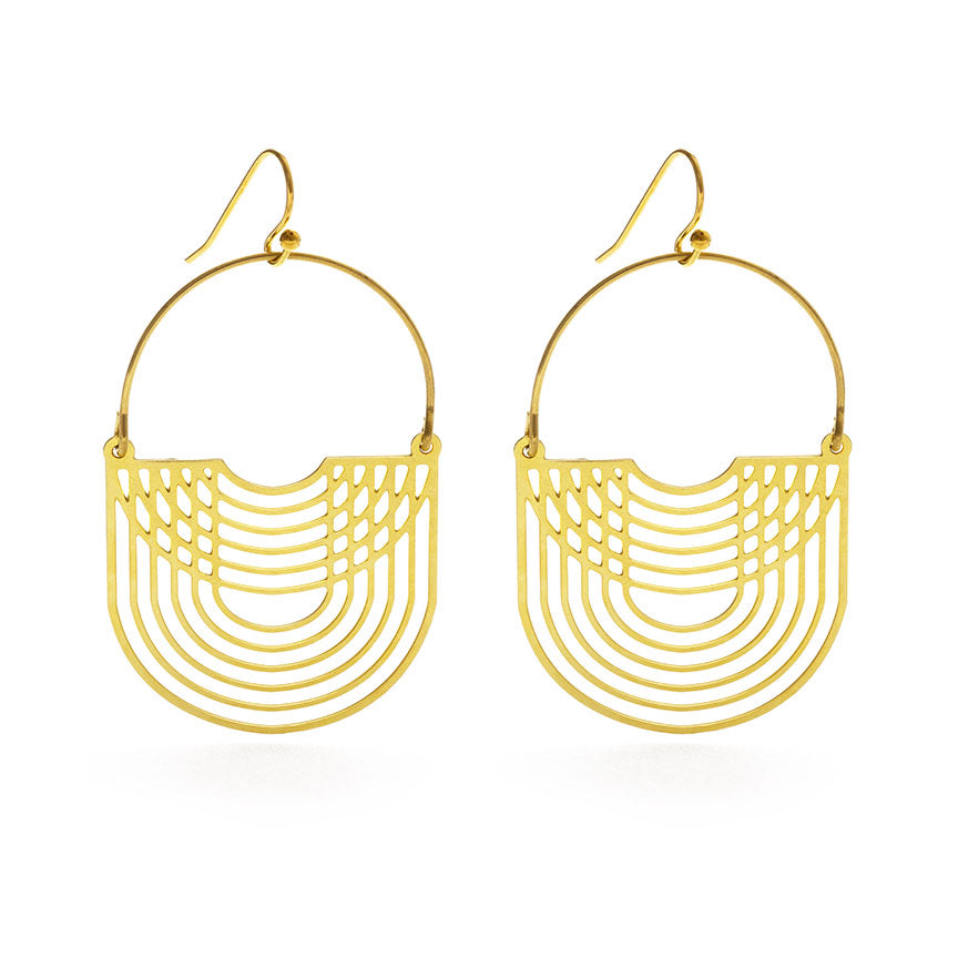 LUSH LAYERS DROP EARRINGS