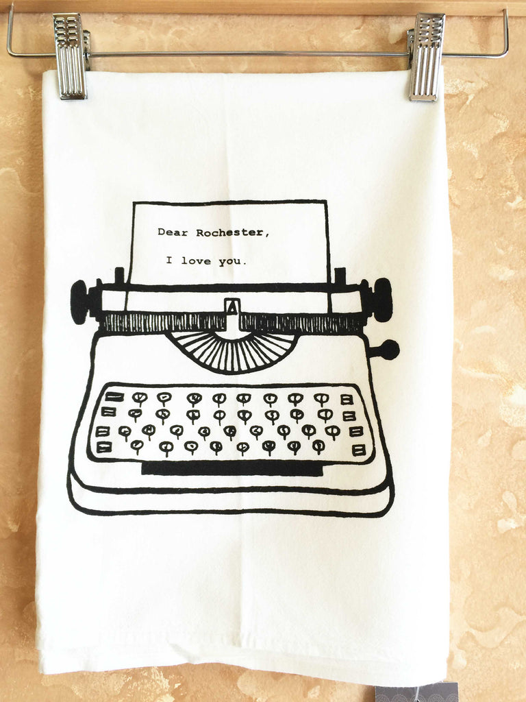 DEAR ROCHESTER TEA-TOWEL