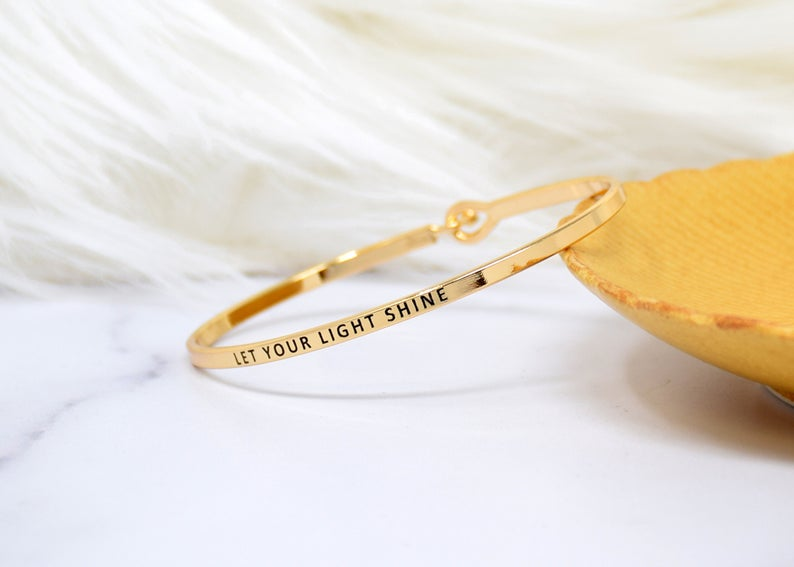 LET YOUR LIGHT SHINE BRACELET