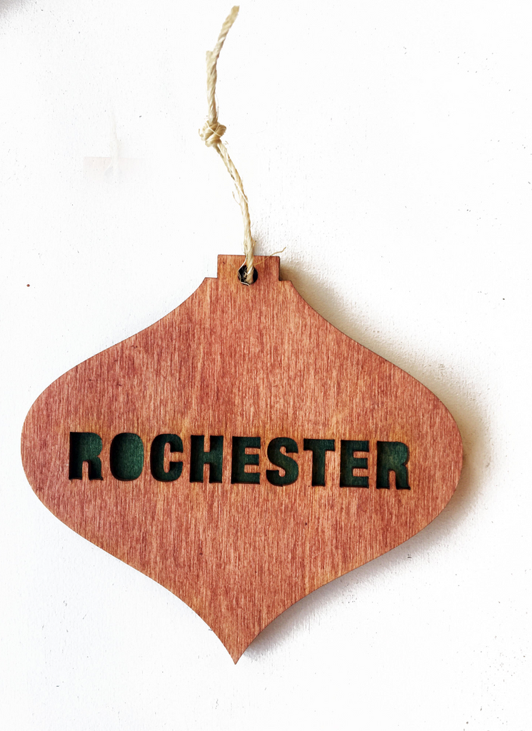 ROC THIS TOWN ORNAMENT