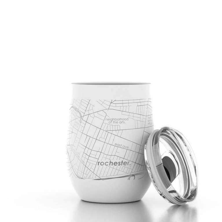ROC MAP WINE TUMBLER