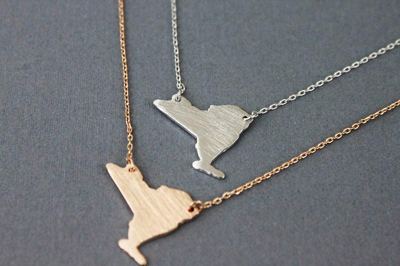 NY STATE NECKLACE