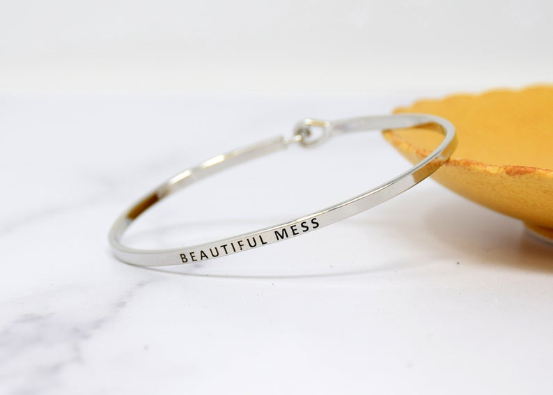 BEAUTIFUL MESS BANGLE BRACELET