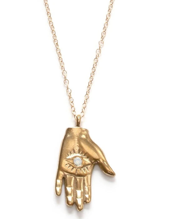 MYSTIC HAND NECKLACE