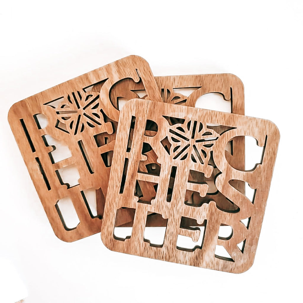 WOOD ROC COASTER SET