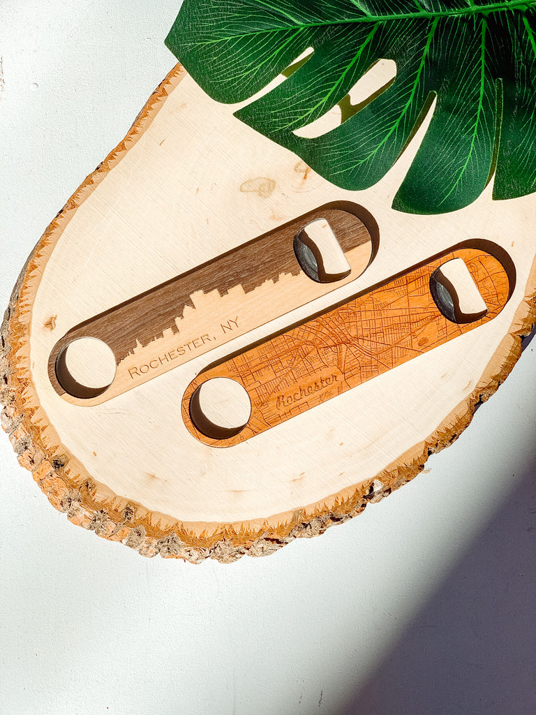 AUTUMN WOOD ROC BOTTLE OPENER