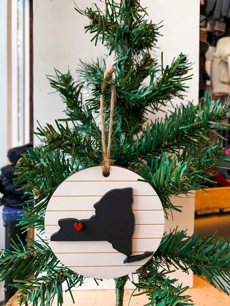 FARMHOUSE ROC ORNAMENT