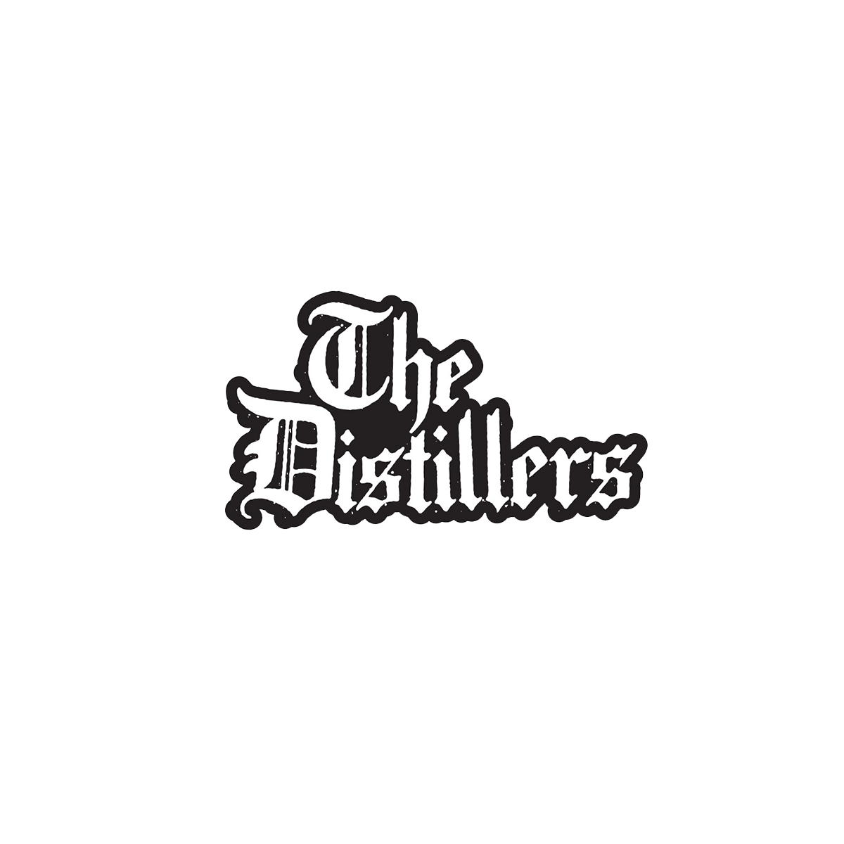 DISTILLERS LOGO STICKER - The Distillers