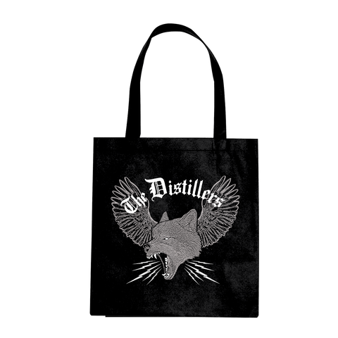 WINGED WOLF TOTE BAG - The Distillers