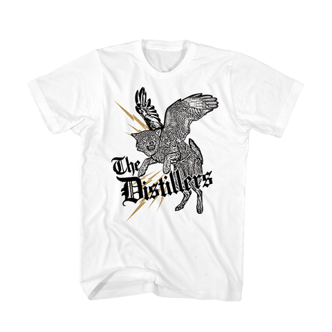 WINGED WOLF TEE - The Distillers