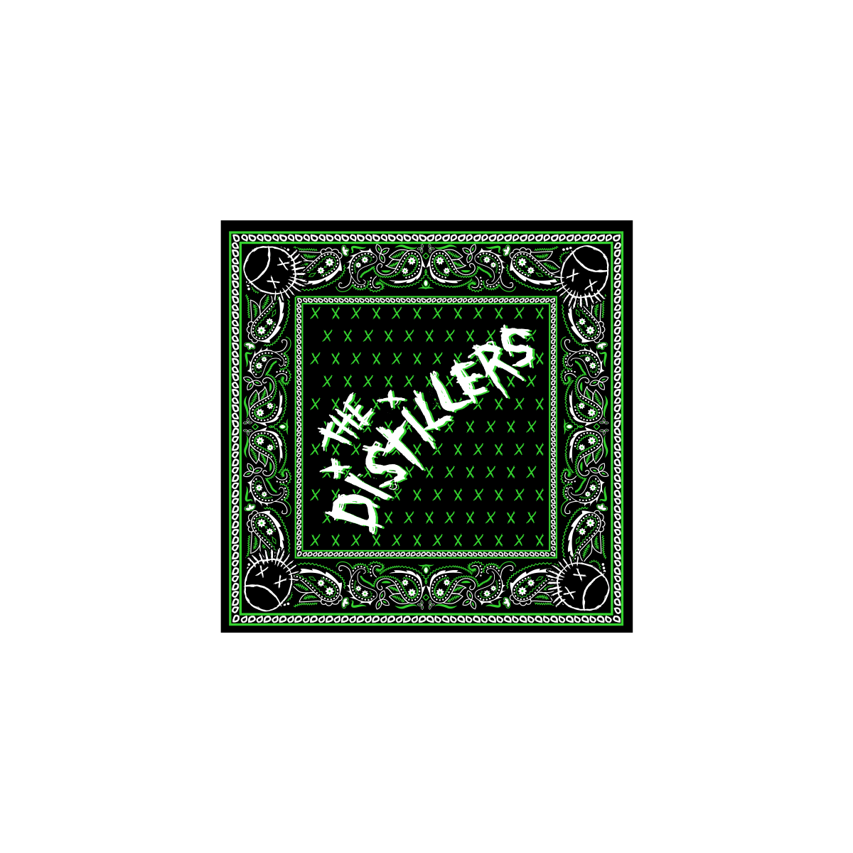 The Distillers - 20th Anniversary Self-Titled Bandana