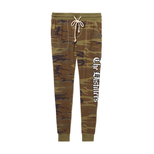 Logo Womens Camo Sweatpants