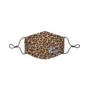 Leopard Logo Face Mask