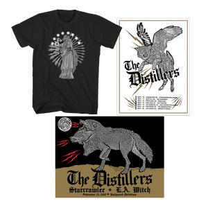 TOUR TEE + POSTER - The Distillers