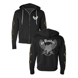 DOOM & GORE ZIP HOODIE - The Distillers