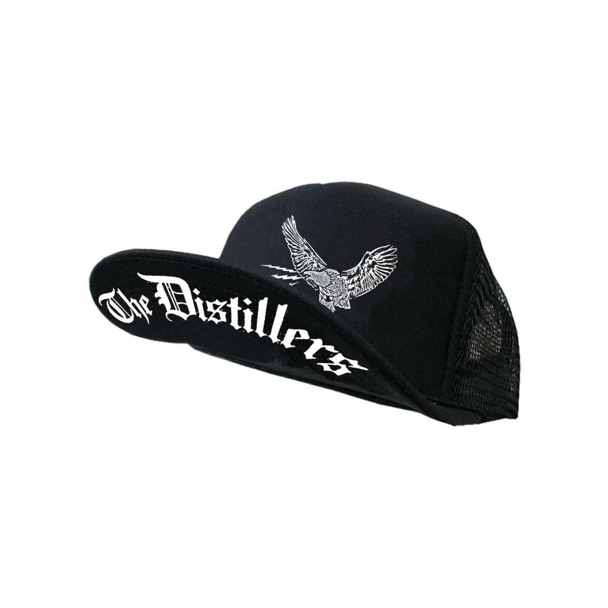 Eagle Flat Trucker Hat