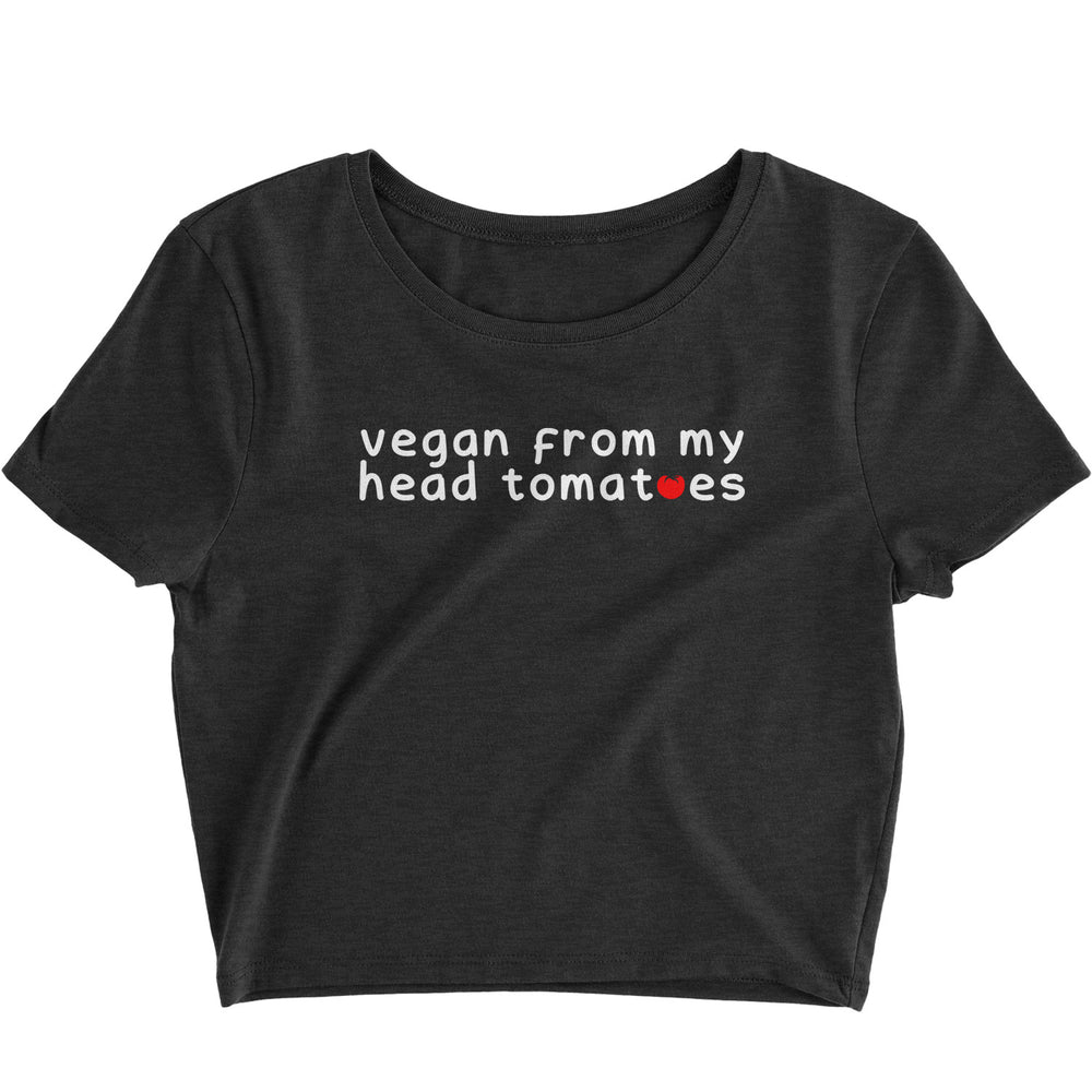 FROM MY HEAD TOMATOES VEGAN - CROP TOP