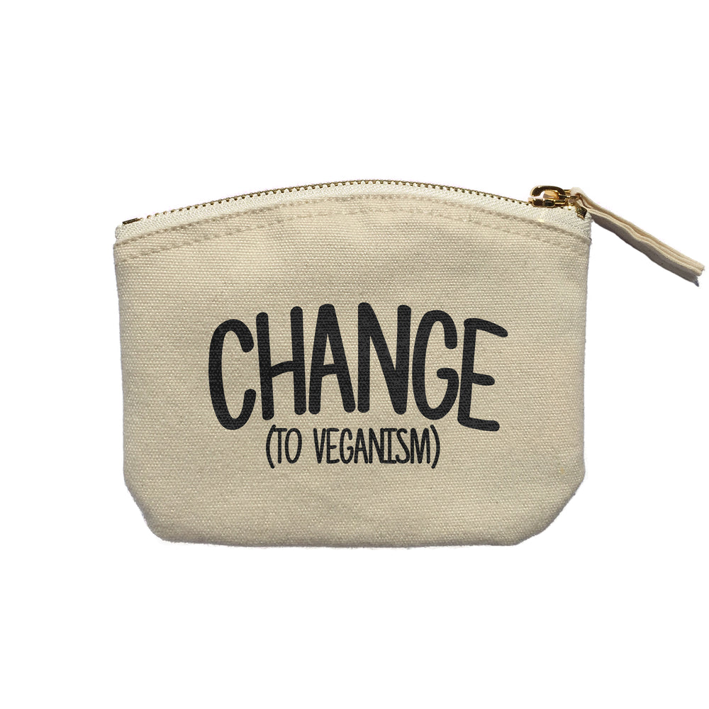 CHANGE (TO VEGANISM) PURSE