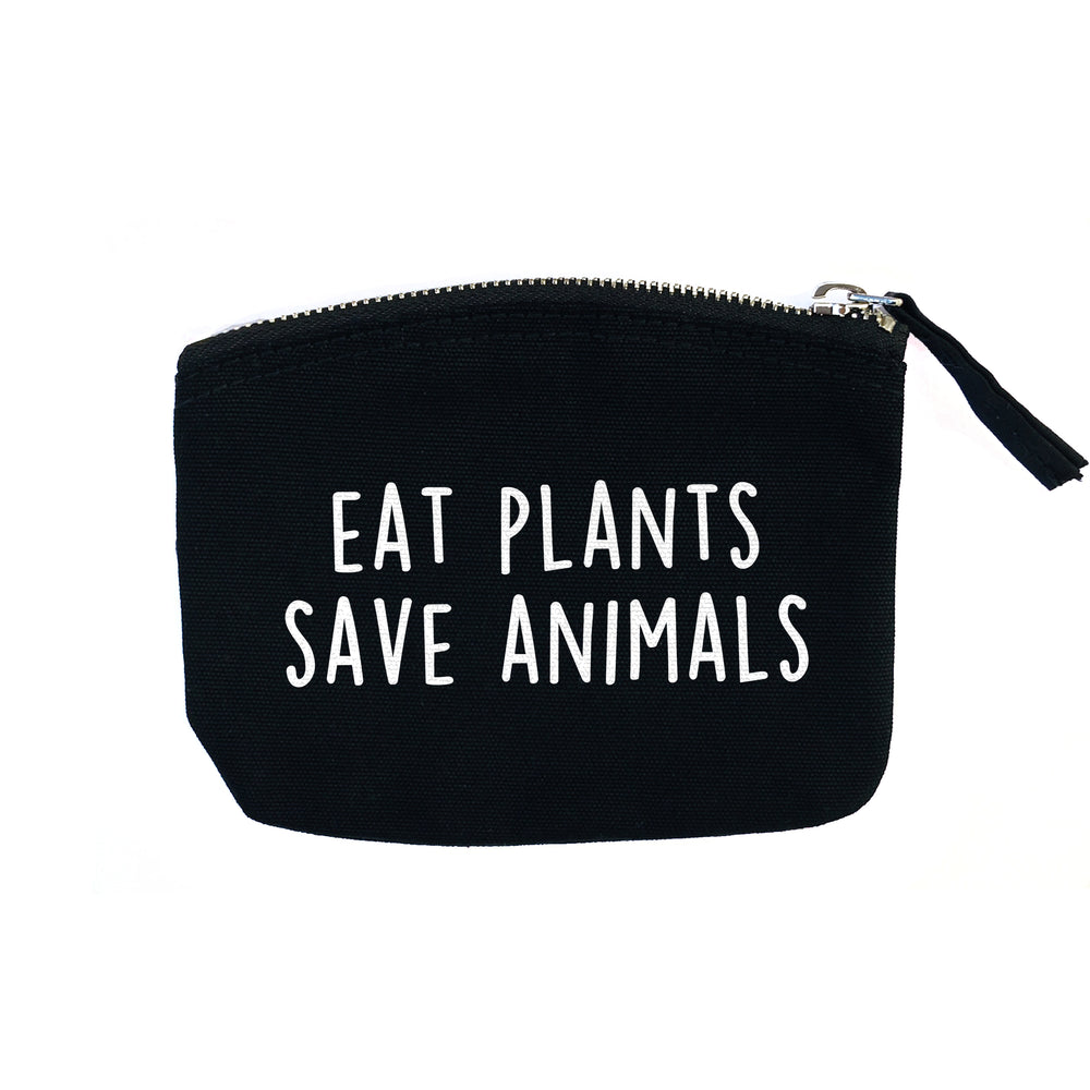 EAT PLANTS SAVE ANIMALS PURSE