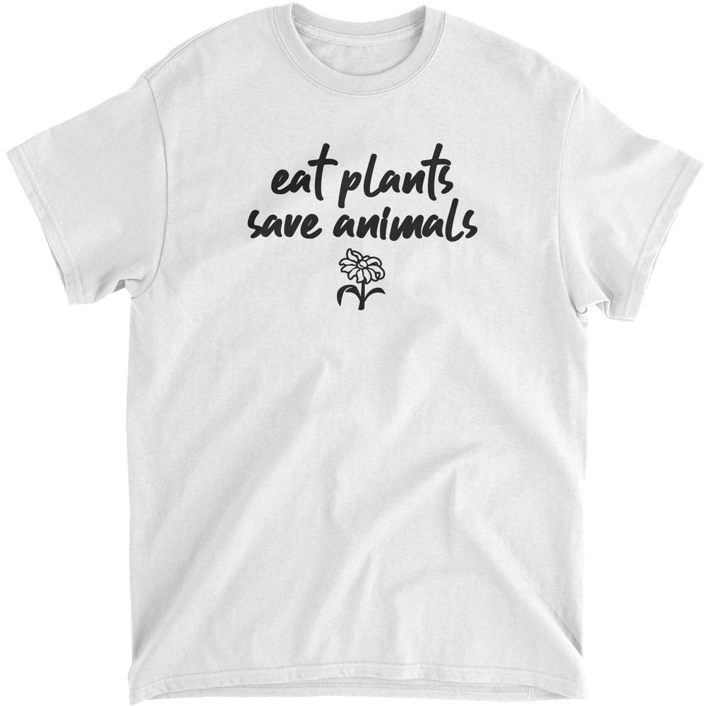 EAT PLANTS, SAVE ANIMALS - UNISEX T-SHIRT