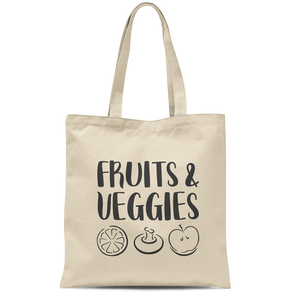 fruits & veggies tote bag