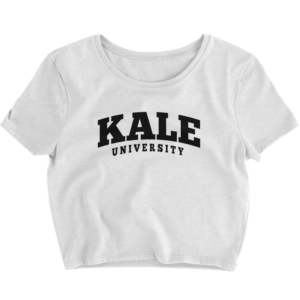 Kale University - Crop Top