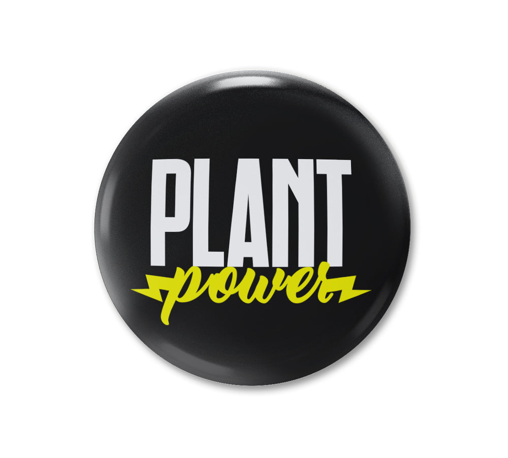 PLANT POWER BADGE