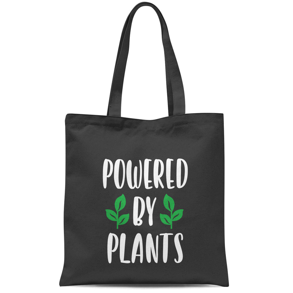 POWERED BY PLANTS TOTE BAG