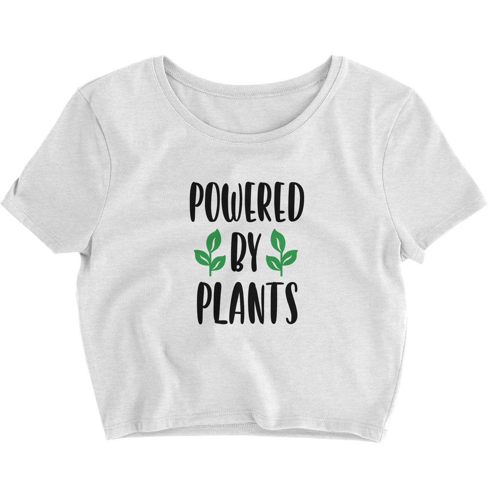 POWERED BY PLANTS - CROP TOP
