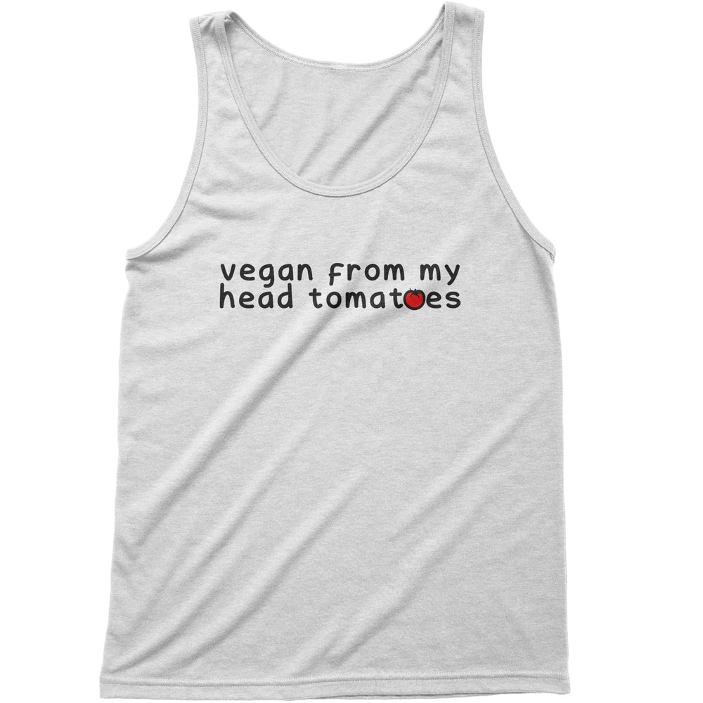 From My Head Tomatoes - Men's Tank Top