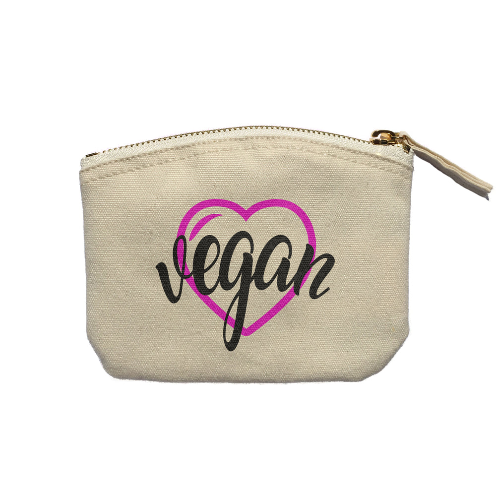 Vegan Heart - Purse