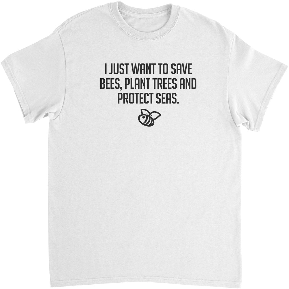 Save Bees, Plant Trees - Unisex T-Shirt
