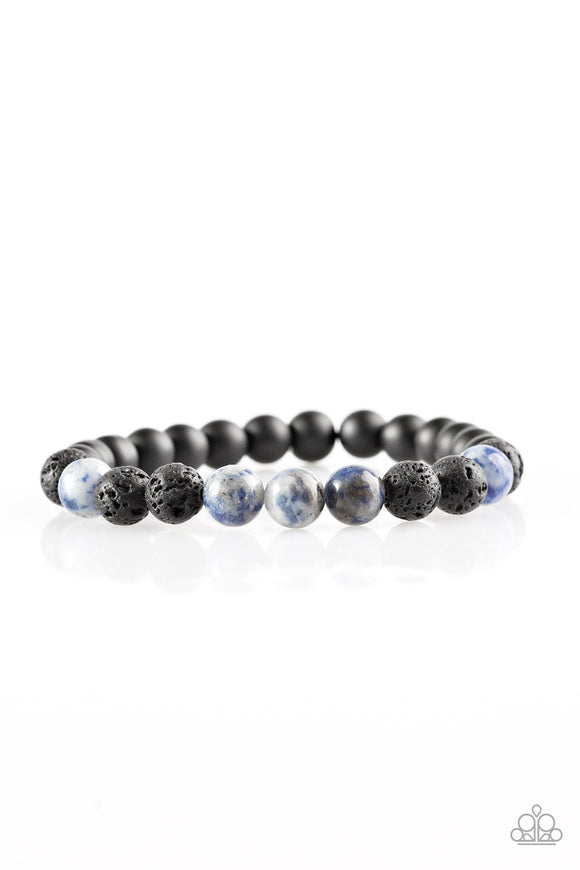 Ambition - Blue (Lava Beads) - The Glitter Lane
