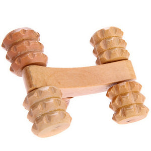 Wooden Full-body Massage Roller
