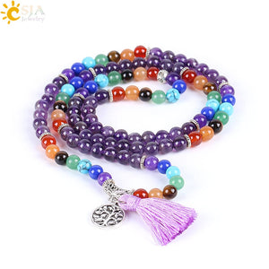 Natural 7 Chakra MeditationTassel