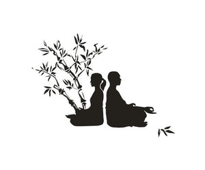 Yoga Tree Wall Decal