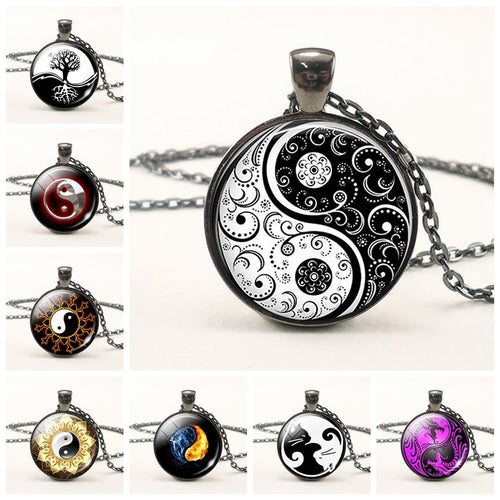 Yin Yang Chain Necklace