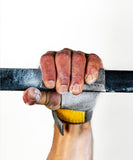 crossfit men gymnastic fingerless grip used for lightening fast transition between high bars and barbells - Victory Grips