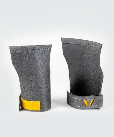 crossfit men gymnastic fingerless freedom grip used for lightening fast transition - Victory Grips a vegan friendly material.