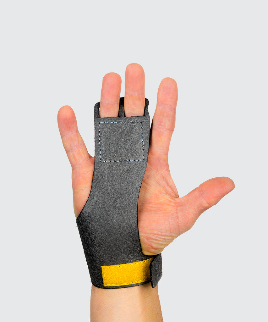 2 finger grips in a synthetic vegan friendly material - Victory Grip