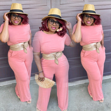 Tammy Short Sleeves Jumpsuit (5 colors)