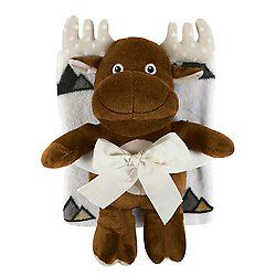 Blanket Toy Set - Moose