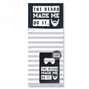 The Beard - Notepad and Bottle Opener