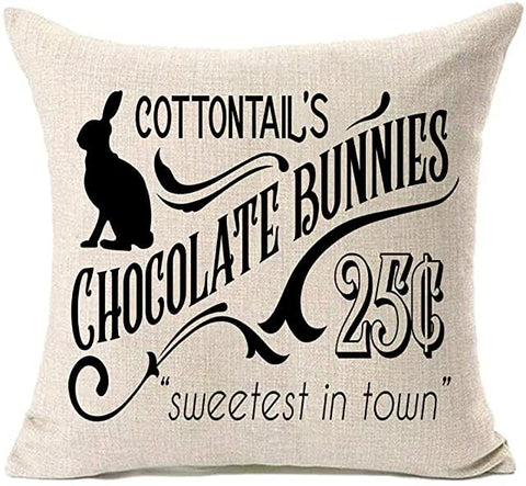 Cottontail's Pillow - Square