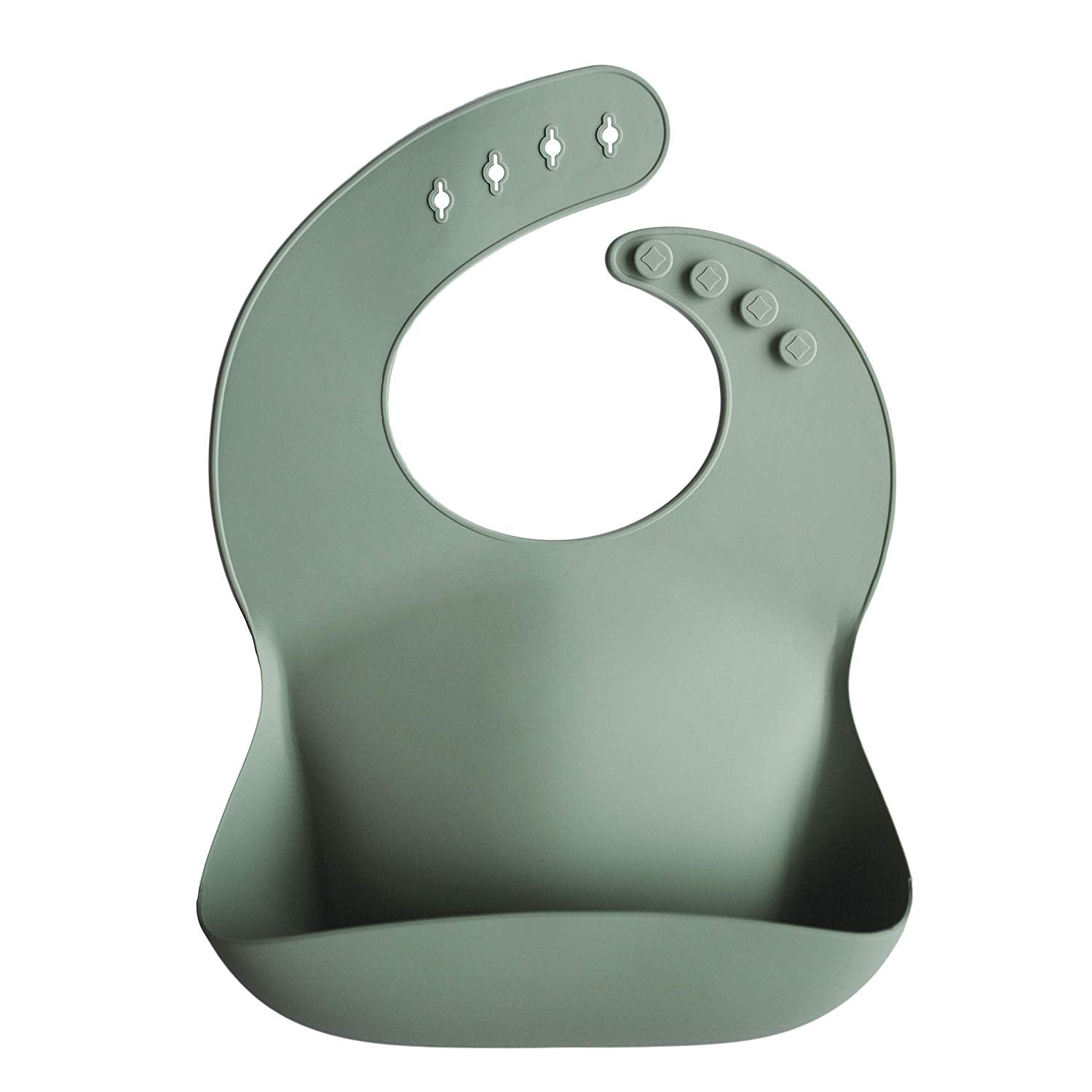 Silicone Bib - Cambridge Blue