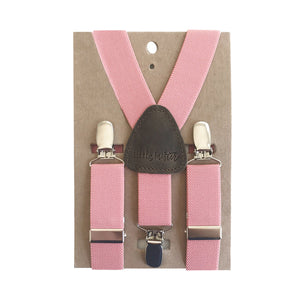 Suspenders - Coral - LARGE