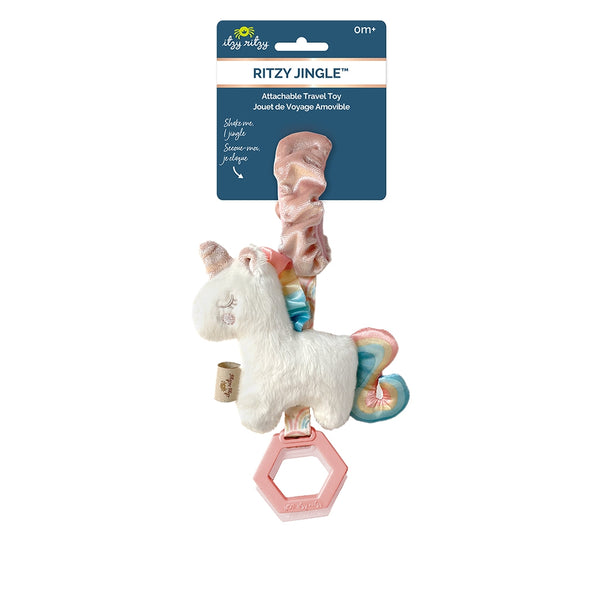 Ritzy Jingle™ Unicorn Attachable Travel Toy