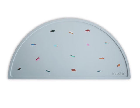 Mushie Silicone Place Mat - Retro Cars