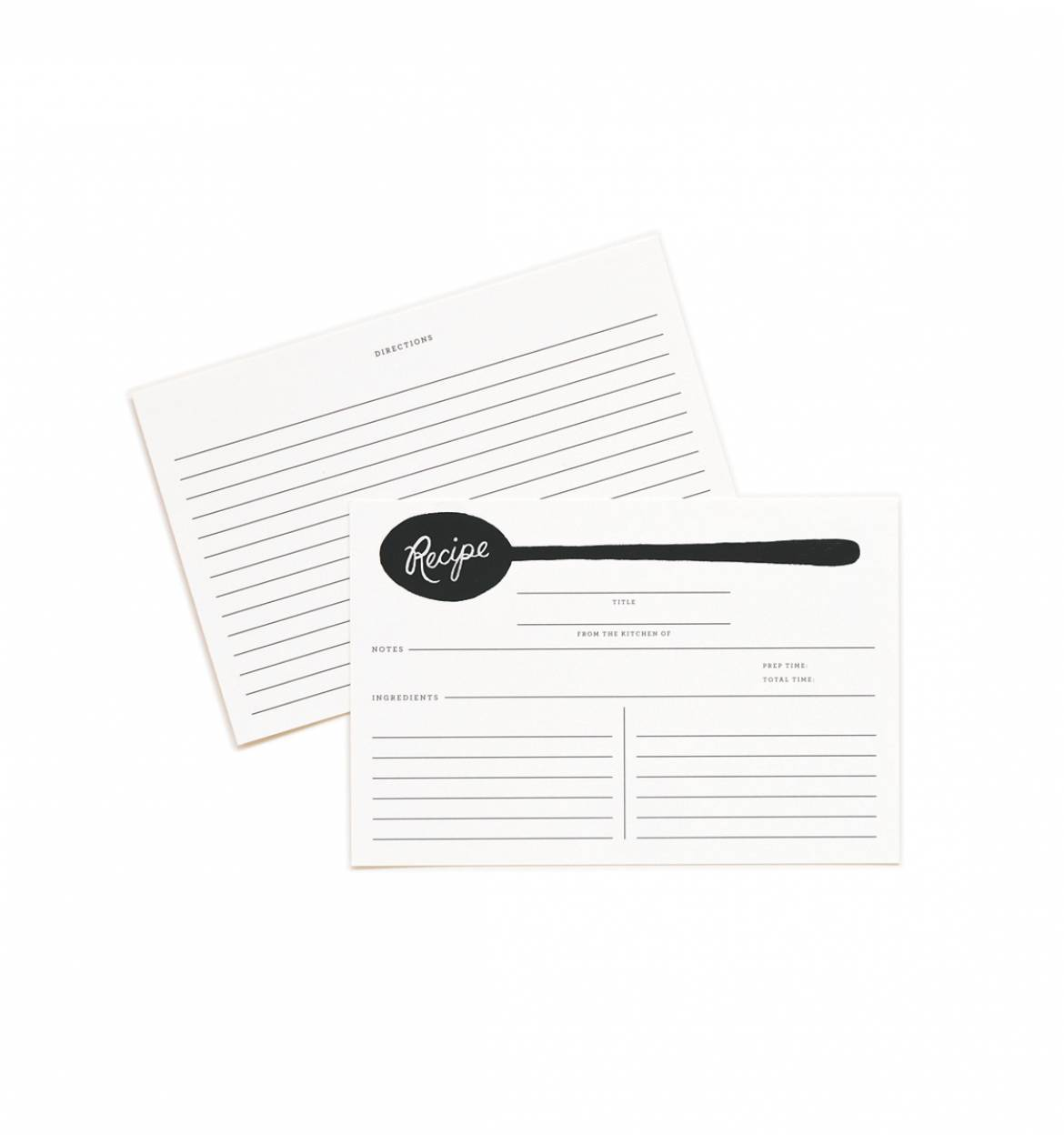 Recipe card, 24 pack